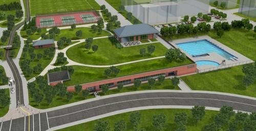 Centre des loisirs de Wesmount (aménagement paysager)